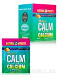 Natural Calm® Plus Calcium Packets, Raspberry-Lemon Flavor - Box of 30 Packs