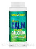 Natural Calm Plus Calcium, Unflavored - 16 oz (454 Grams)