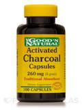 Charcoal (Activated) 260 mg - 100 Capsules
