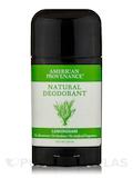 Natural Deodorant - Lemongrass - 2.65 oz
