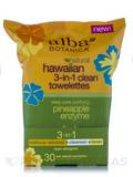 Natural Hawaiian 3-in-1 Clean Towelettes 30 Count