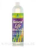 Natural Life Minerals - Natural Lemon-Lime Flavor (with Stevia) 16 fl. oz