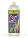 Natural Life Minerals - Natural Lemon-Lime Flavor (with Stevia) 32 fl. oz