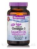 Natural Omega-3 Salmon Oil 1000 mg - 90 Softgels