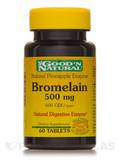 Natural Pineapple Enzyme Bromelain 500 mg (600 GDU/gram) - 60 Tablets