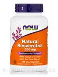 Natural Resveratrol 200 mg 120 Vegetarian Capsules