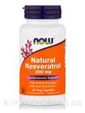 Natural Resveratrol 200 mg 60 Vegetarian Capsules