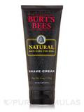 Natural Skin Care for Men - Shave Cream - 6 oz (170 Grams)
