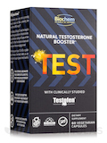 Natural Testosterone Booster Test - 60 Vegetarian Capsules