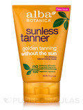 Natural Very Emollient Sunless Tanner - 4 oz (113 Grams)