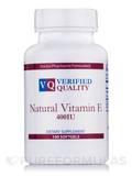 Natural Vitamin E 400 IU 100 Gels