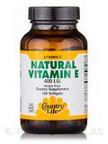 Natural Vitamin E 400 IU 180 Softgels