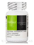 Natural Vitamin E-400 - 60 Softgels