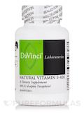 Natural Vitamin E-400 - 60 Softgels