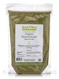 Organic Neem Leaf Powder 1 Lb (454 Grams)