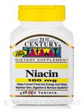 Niacin 100 mg - 110 Tablets