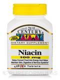 Niacin 100 mg - 110 Tablets