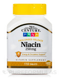 Niacin 250 mg - 110 Tablets