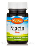 Niacin 50 mg - 100 Tablets
