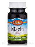 Niacin 50 mg 100 Tablets
