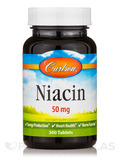 Niacin 50 mg 300 Tablets
