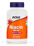 Niacin 500 mg 100 Capsules