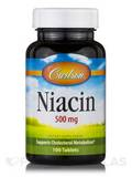 Niacin 500 mg - 100 Tablets