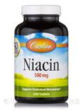 Niacin 500 mg - 250 Tablets