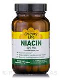 Niacin 500 mg - 90 Tablets