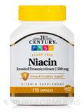 Niacin 500 mg Flush Free - 110 Capsules