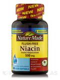 Niacin 500 mg Flush-Free 60 Softgels