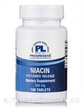 Niacin Sustained Release 500mg - 100 Tablets