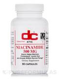 Niacinamide 500 mg 90 Capsules
