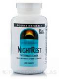 Night Rest with Melatonin 200 Tablets