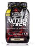 Nitro-Tech Performance Series Vanilla 2 lb