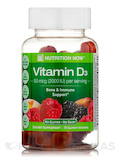 Vitamin D3 Gummy - 2000 IU, Assorted Flavors - 75 Gummies
