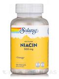 Niacin, No Flush 500 mg - 100 Vegetarian Capsules
