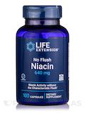 No Flush Niacin (Inositol Hexanicotinate) 800 mg 100 Capsules
