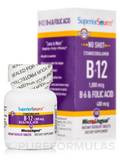 No Shot B6/B12/Folic Acid - 100 Instant Dissolvable Tablets