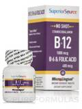 No Shot B6/B12/Folic Acid - 60 Dissolvable Tablets
