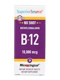 No Shot Methylcobalamin B-12 10,000 mcg - 30 MicroLingual® Tablets