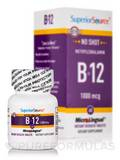 No Shot Methylcobalamin B12 1000 mcg 60 Dissolvable Tablets