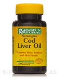 Norwegian Cod Liver Oil 100 Softgels