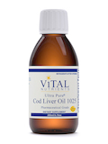 Ultra Pure® Cod Liver Oil 1025, Lemon Flavor - 200 ml