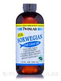 Norwegian Cod Liver Oil Mint - 12 fl. oz (355 ml)