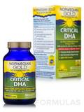 Norwegian Gold Critical DHA - 60 Fish Gels