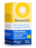 Norwegian Gold® Critical Omega, Natural Orange Flavor - 60 Enteric-Coated Softgels