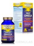 Norwegian Gold First Omega 60 Fish Gels