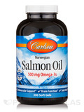 Norwegian Salmon Oil 1000 mg - 300 Soft Gels
