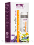 NOW® Essential Oils - Head Relief Essential Oil Blend (Roll-on) - 1/3 fl. oz (10 ml)